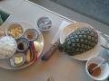 Ингридиенты для риса в ананасе