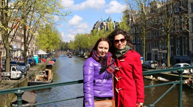 Здравствуй, Амстердам!